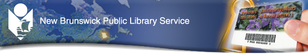 New Brunswick Public Library Services